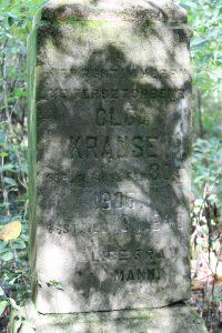 16 Olga Krause gravestone
